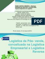 Apresentação em Power Point-  Logística de pós-venda.