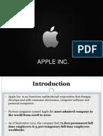 Presentation on apple
