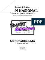 Smart Solution Un Matematika Sma 2013