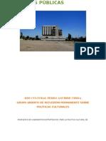 Propuesta de Lineamientos Culturales Para Pedro Aguirre Cerda