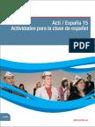 Actividades para la clase de español