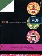Progress Lighting Catalog 1962