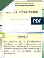 CHARLAS  LIMPIEZA, DESINFECCIÓN MUNI