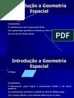 Geometria Espacial- Espaço