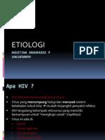 Etiologi HIV/AIDS