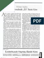Molnár András - Antitradicionalisták 'ÉS' Baráti Köre