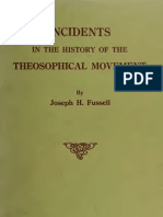 Fussell, Jospeh - Incidents in the History of the Theosophical Movement (1920)