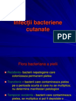 Infectii Bacteriene Cutanate