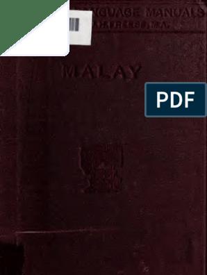Malay Manual Arabic Alphabet