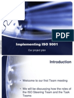 Implementing ISO 9001 2008
