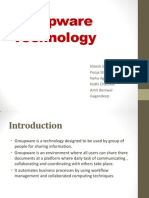 Groupware Technology Ppt