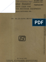Is 6619 1972 Safety Code for Semiconductor Rectifier Equipment