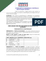 protocolo caracterização de aminoácidos e proteinas e desnaturação - aluno