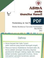 Asma Presentasi
