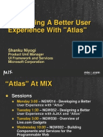 """Developing a Better User Experience with """"Atlas"""""""