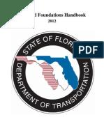 Soils an Foundation Handbook State of Florida 2012 204p