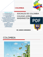Regiones de Colombia (Primero)