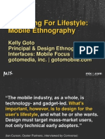 Designing For Lifestyle