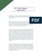 Paul Gauguin Biography