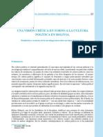Visión crítica en torno a la política boliviana