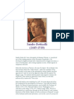 Sandro Botticelli Biography