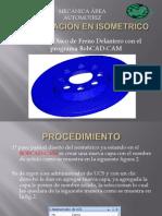 Diseño de Disco de Freno - Con BobCAD-CAM