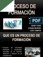 PROCESO DE FORMACIÓN