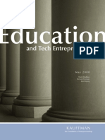 Education and Tech Entrepreneurship