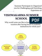 Vishwakarma Summer School