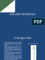 Drilling Techniques