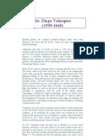 Diego Velazquez Biography