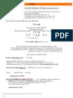Vedic Mathematics 09