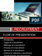 e Recruitment