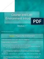 Module 01 Course and Lab Environment Introduction (1)
