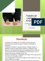 Trabalho de Legislação Empresarial