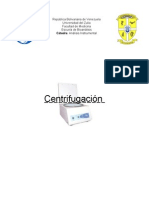 Centrifugación