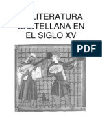 Literatura Castellana XV