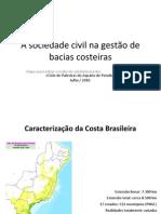 A sociedade civil na gestão de bacias costeiras