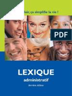 Lexique administratif