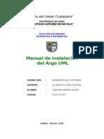 Manual de Instalacion de Argouml
