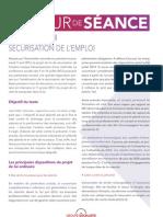 Projet de loi - Sécurisation de l'emploi