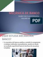 MECÁNICA DE BANCO