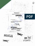 국방부 비밀문서 19690417 B52폭격검토 안치용