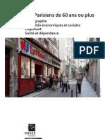 Paris Les Parisiens de 60 Ans Ou Plus
