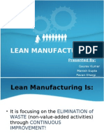 Rpa Sheet Lean Manufacturing Inventory
