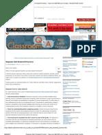 Homework Policies and Strategies