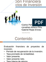 Eq 4 Evaluacion Financiera