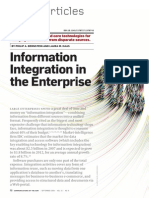 Information Integration Enterprise