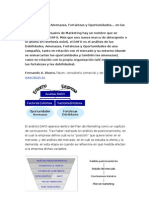Analisis Dafo Con Ejemplo DAFO