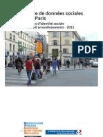 PARIS données sociales par arrondissement 2011